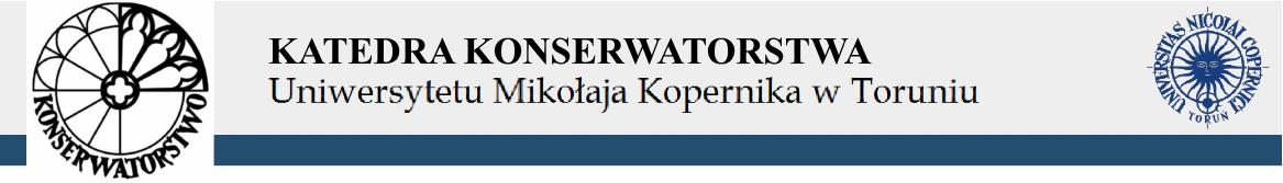 KATEDRA KONSERWATORSTWA