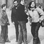 lata 70-80 Członkowie Koła Naukowego podczas wyjazdu do Niemiec