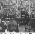 lata 70 - Rada Instytutu Zaytkoznawstwa i Konserwatorstwa UMK (FILEminimizer)