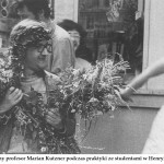 lata 70 obecny pro. Marian Kutzner podczas praktyki w Henrykowie (FILEminimizer)