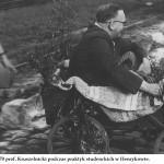 lata 70 prof. Kruszelnicki podczas praktyk studenckich w Henrykowie (FILEminimizer)