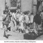 lata 80 Uczestnicy objazdu naukowego po Małopolsce